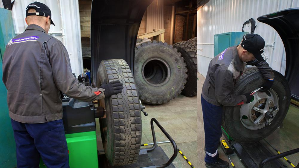 Балансировка грузовых шин